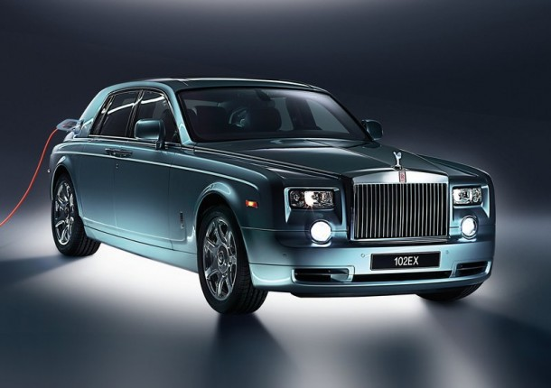 Rolls Royce Electric Car
