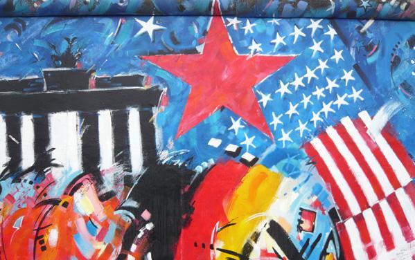 Berlin Wall East Side Gallery InterRail Europe