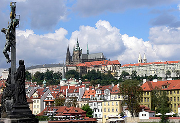 Prague Castle Inter rail East Europe
