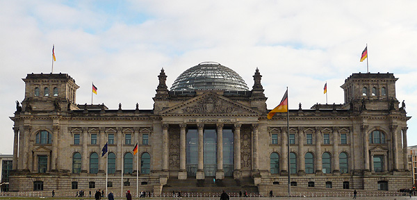 Reichstag Building Germany InterRail East Europe