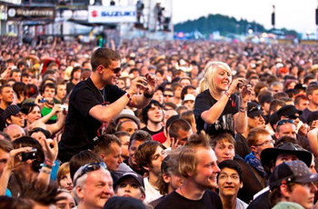 Rock am Ring Music Festival Nurburgring Germany