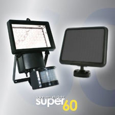 Super60 Outdoor solar Security Light