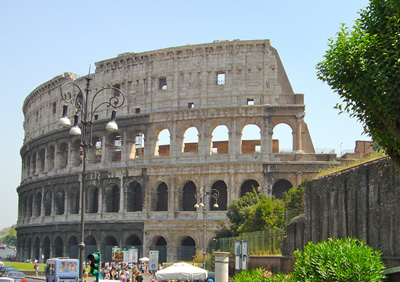 The Colosseum Rome InterRail