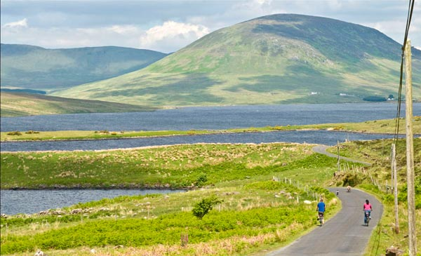 Cycling Clew Bay County Mayo Ireland