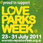 Love Parks Week 2012 - events across the UK in parks and green spaces