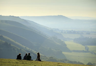 National Trust Walks Devil's Dyke South Downs East Sussex