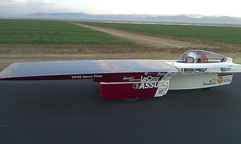 Xenith Stanford University Solar Car