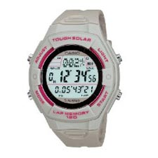 Casio Ladies Solar Powered Runners Digital Watch