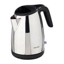 Philips Gloss Metal and Black Kettle HD4656/22