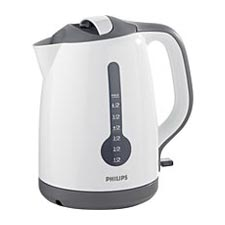 Philips White Energy Efficient Kettle HD4644/00