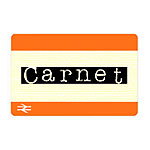 Where to get Carnet tickets for discounts on peak rail fares