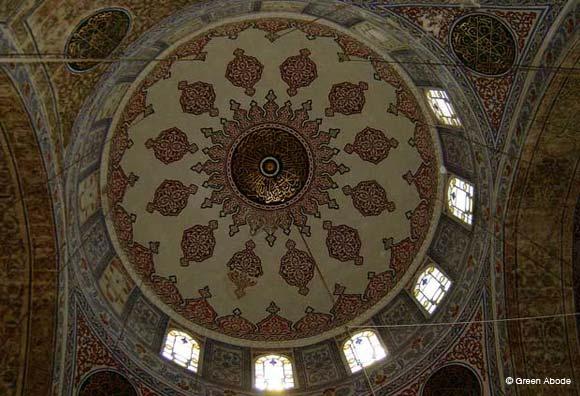 Blue Mosque Interior Roof