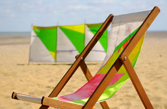 Wightsails Deckchair and Windbreak