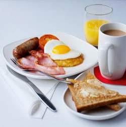 Virgin Trains First Class Breakfast
