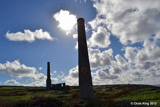 Chimney Levant Mine