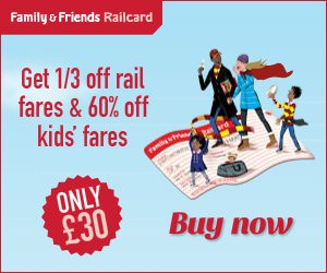 Family & Friends Railcard Deals