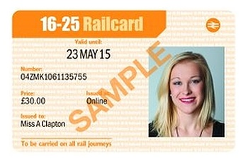 16 25 Student Railcard 3 Year Promo Code