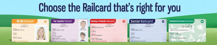 3-year Railcard promotional code