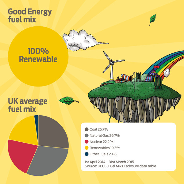 Good Energy fuel comparison