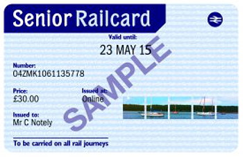 Senior Railcard Promotional Code
