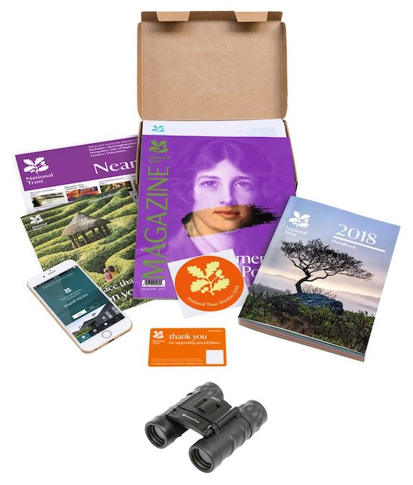 National Trust membership pack