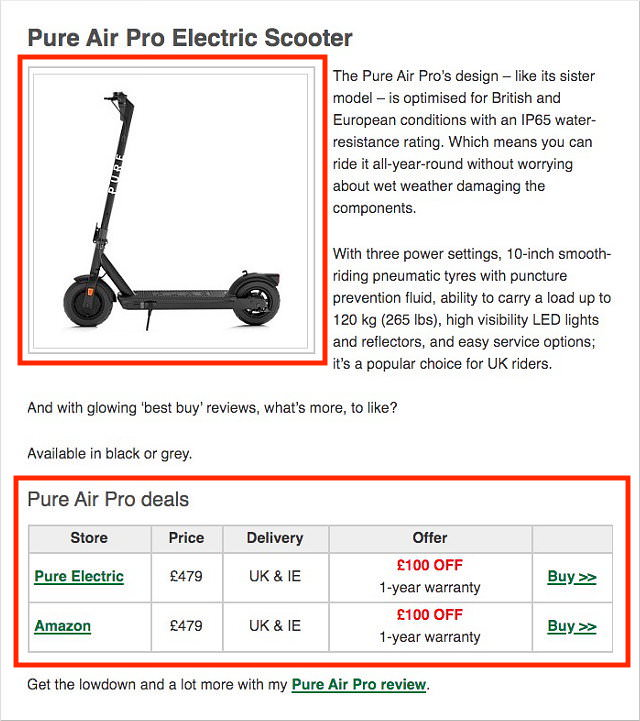 Compare Scooter Prices & Offers