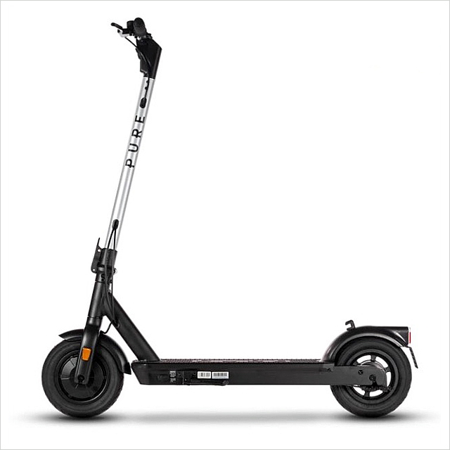 Pure Air Pro Electric Scooter with Puncture Protection Fluid