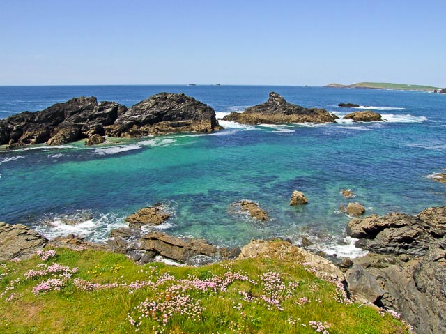 Trescore Islands in Cornwall are excellent for snorkelling
