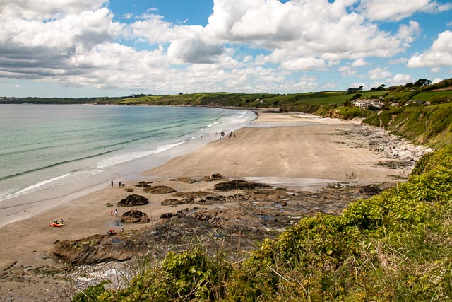 Scenic Carne Beach is ideal for families