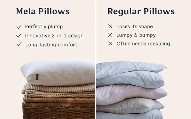Mela The Dual Pillow